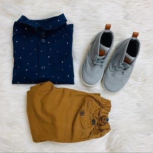 H&M preppy baby boy outfit